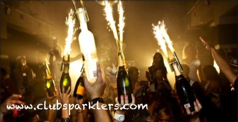 Nightclub Bottle Sparklers Champagne Bottle Sparklers Cake